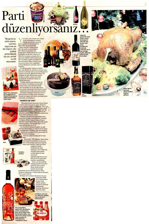 26.12.2009'da Akşam Gazetesinde Çıkan Yayınımız